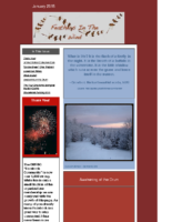 January 2015 Newsletter – Feathers In The Wind