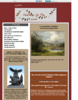 July 2015 Newsletter-Feathers In The Wind