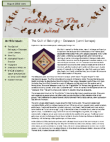 August 2011 Newsletter – Feathers In The Wind