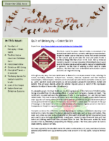 December 2011 Newsletter – Feathers In The Wind