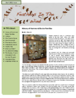 April 2012 Newsletter – Feathers In The Wind