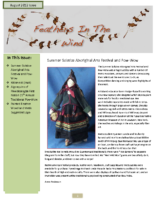 August 2012 Newsletter – Feathers In The Wind