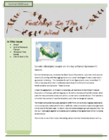 Summer 2010 Newsletter – Feathers In The Wind
