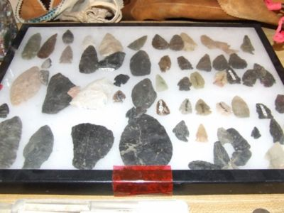 More arrowheads