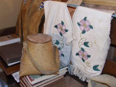 """Beadwork, Birchbark and Books"""