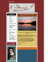 May 2014 Newsletter – Feathers In The Wind