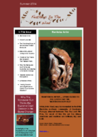 Summer 2014 Newsletter – Feathers In The Wind