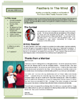 January 2009 Newsletter – Feathers In The Wind