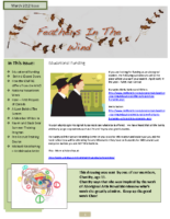March 2012 Newsletter – Feathers In The Wind