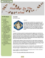 May 2012 Newsletter – Feathers In The Wind