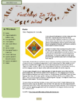 July 2012 Newsletter – Feathers In The Wind